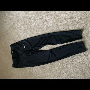 Nike Pants - Nike Speed 7/8 Running Tights Leggings Black XS
